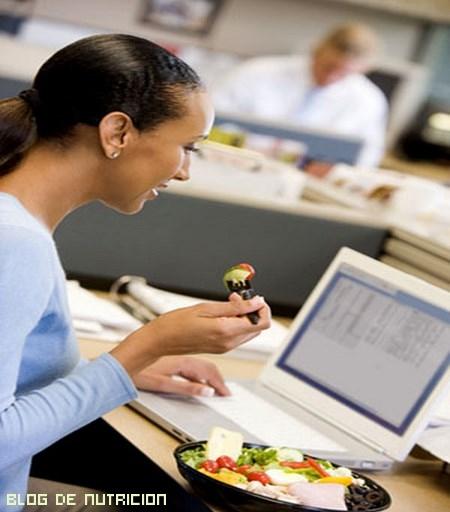 dietas saludables para oficinistas
