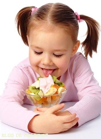 frutas en la alimentación infantil