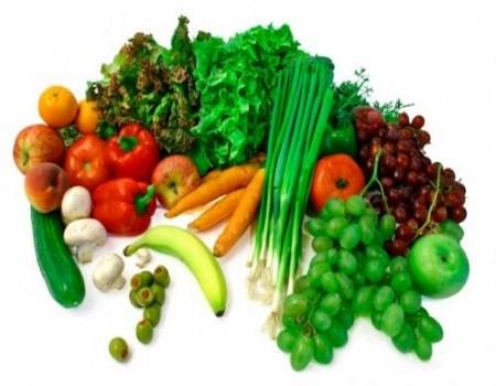 vegetales y fruta
