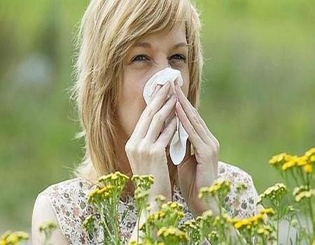 asma en la primavera