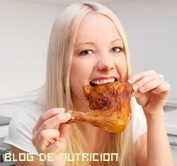 comidas saludables con pollo