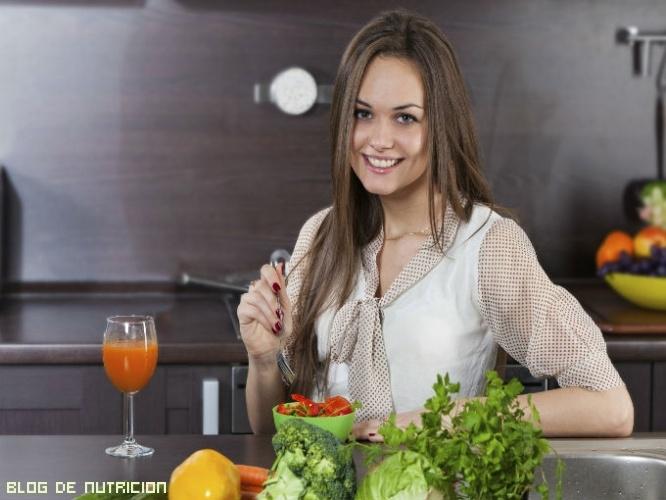 platos saludables con verduras
