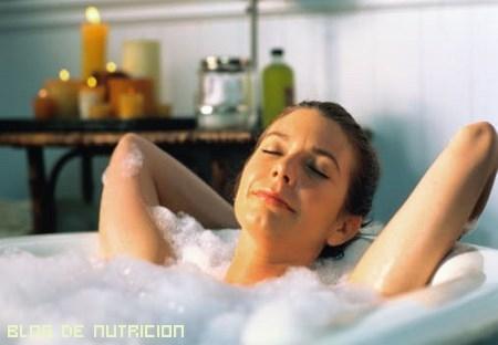 baños relajantes