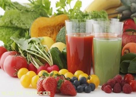 zumos naturales antioxidantes
