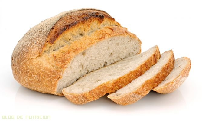 dietas con pan blanco