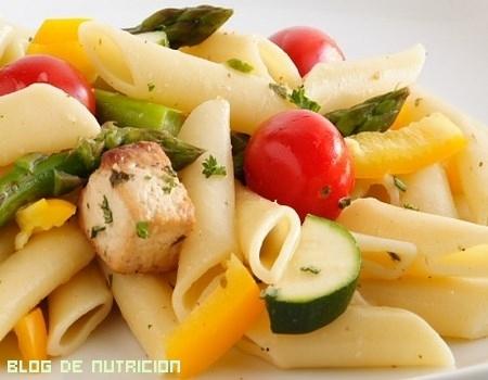 recetas saludables con pasta
