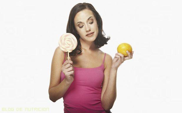 alimentos frescos en las dietas