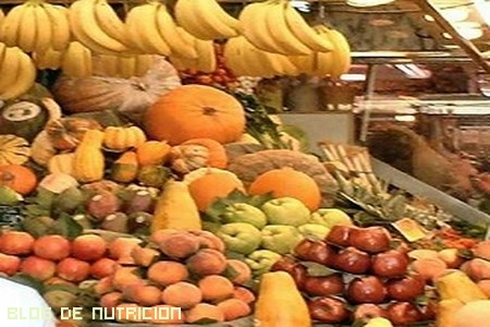 verduras y frutas