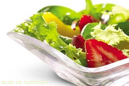 verduras para dietas