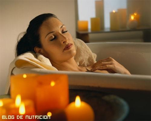baños relajantes contra estrés
