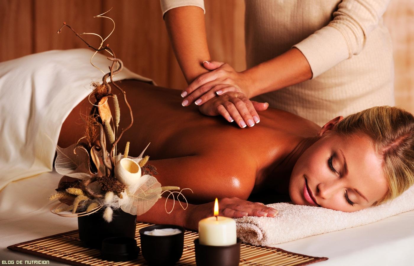 masajes en centros de spa