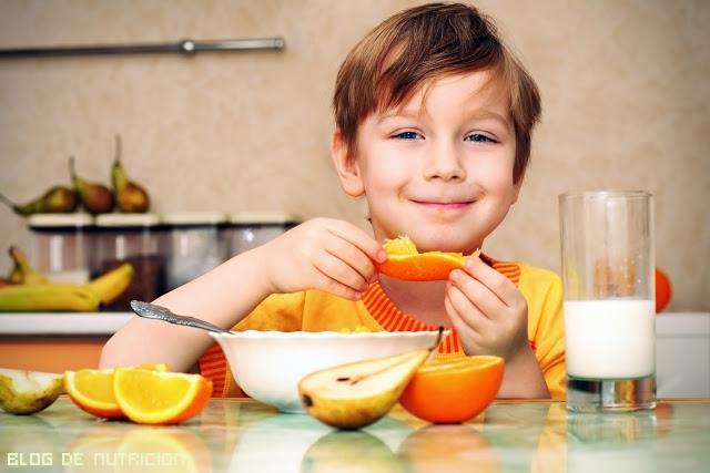 frutas para niños