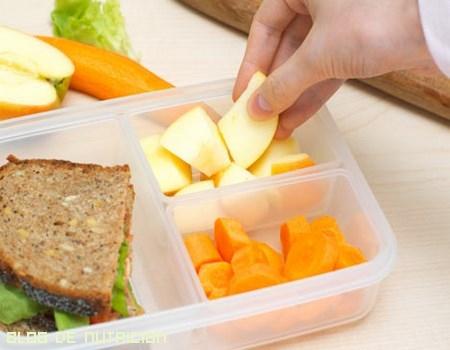 meriendas para controlar calorías