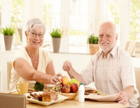 alimentación para mayores