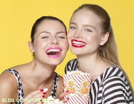 Snacks beneficiosos para la salud