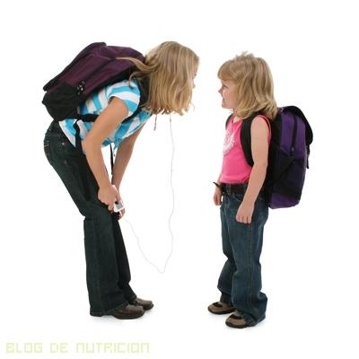 peso para llevar los niños