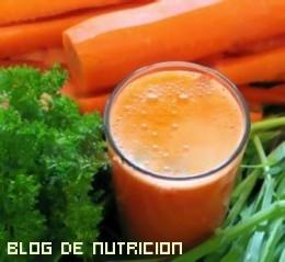 Batidos de zanahoria