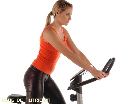 bajar peso en bicicleta