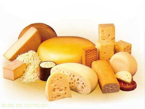 quesos en tu dieta