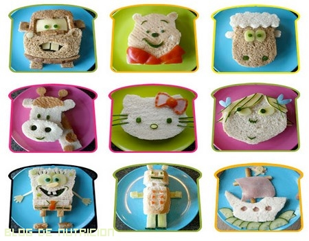 Comidas divertidas para niños