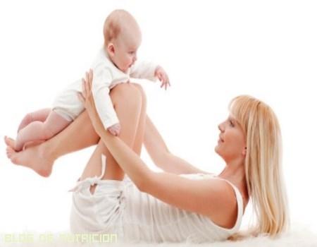 Ejercicios tras el parto