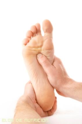 cómo tener unos pies sanos
