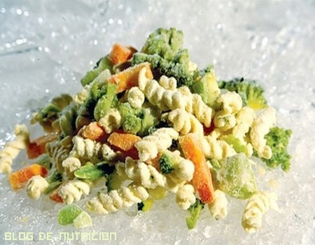verduras congeladas para dieta