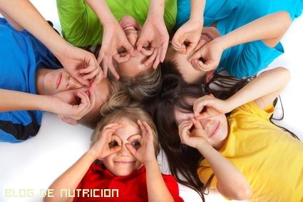 Dietas saludables para niños