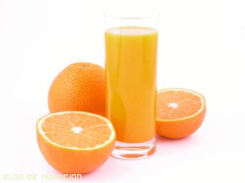 zumos con baja concentración de azúcar