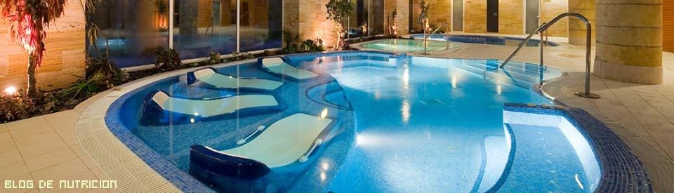 piscinas con spa