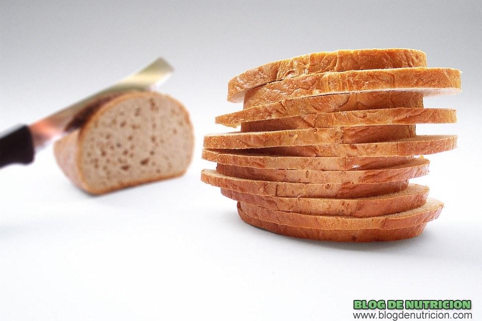 pan como alimento en hidratos
