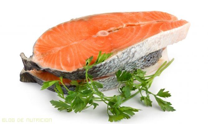 salmón en tu dieta