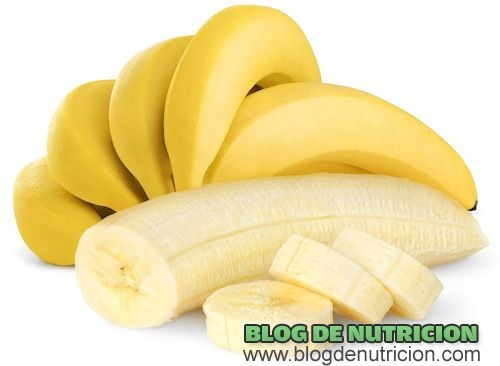 plátanos en la dieta