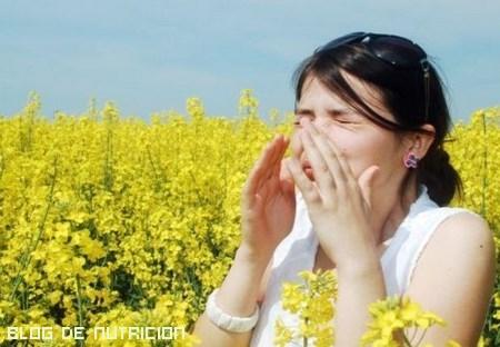 diferentes alergias