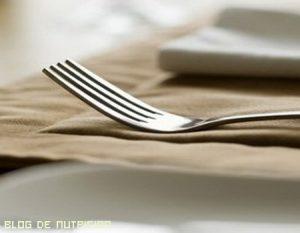 La dieta Forking o dieta del tenedor