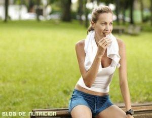 Dieta para antes de hacer ejercicio