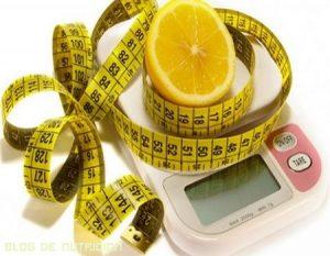 El limón para bajar de peso