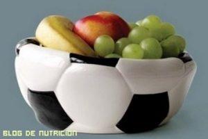 Alimentación de los futbolistas