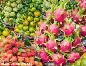 Frutas exóticas más saludables