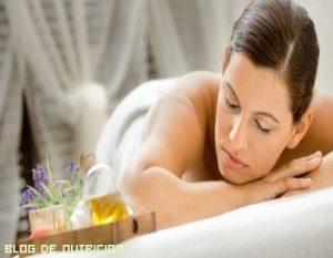 Beneficios de los masajes con gotas de lluvia