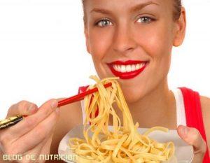 ¿Se puede comer pasta cuando estamos a dieta?