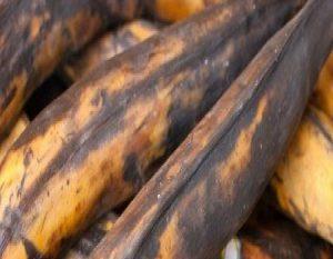 Una idea para aprovechar los plátanos maduros
