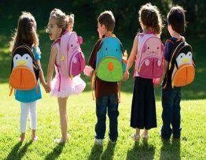 Cuidar la espalda de los Niños