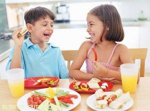 Una buena alimentación para los niños