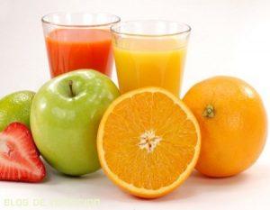Clases de zumos envasados