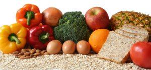 frutas,verduras, cereales y pan