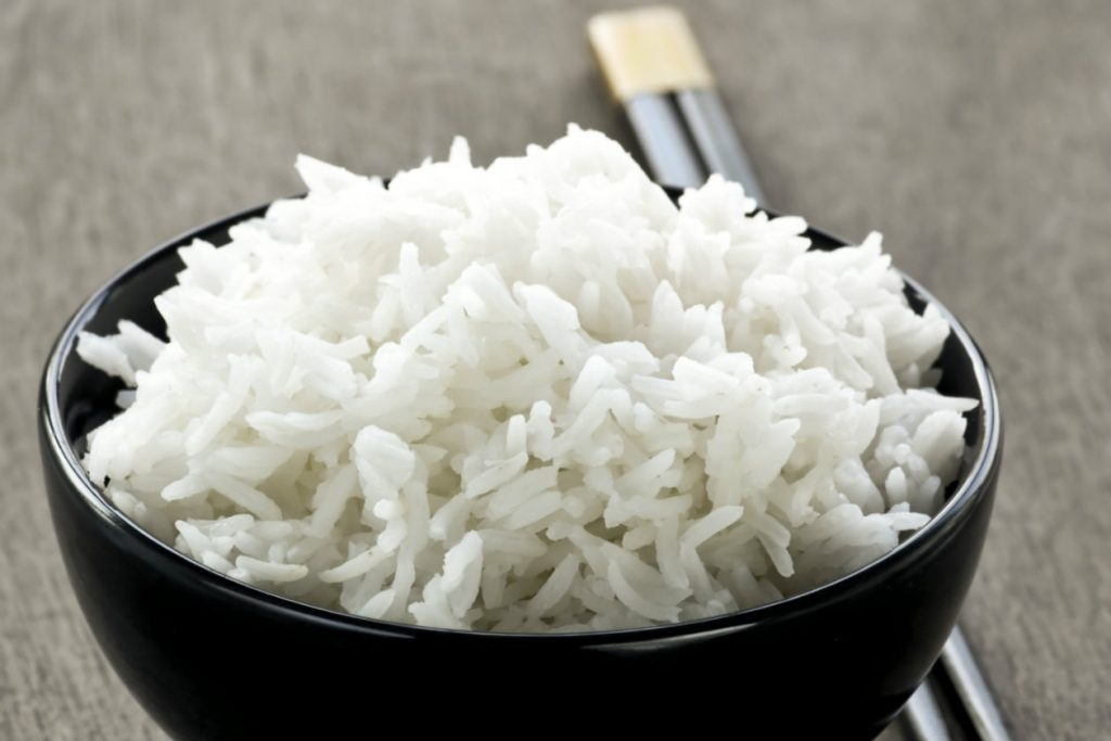 Arroz blanco integral